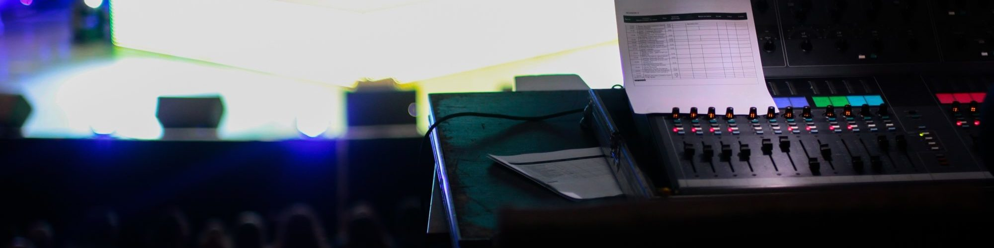 table de mixage au chateau troissy internat college lycee cinema 7e art