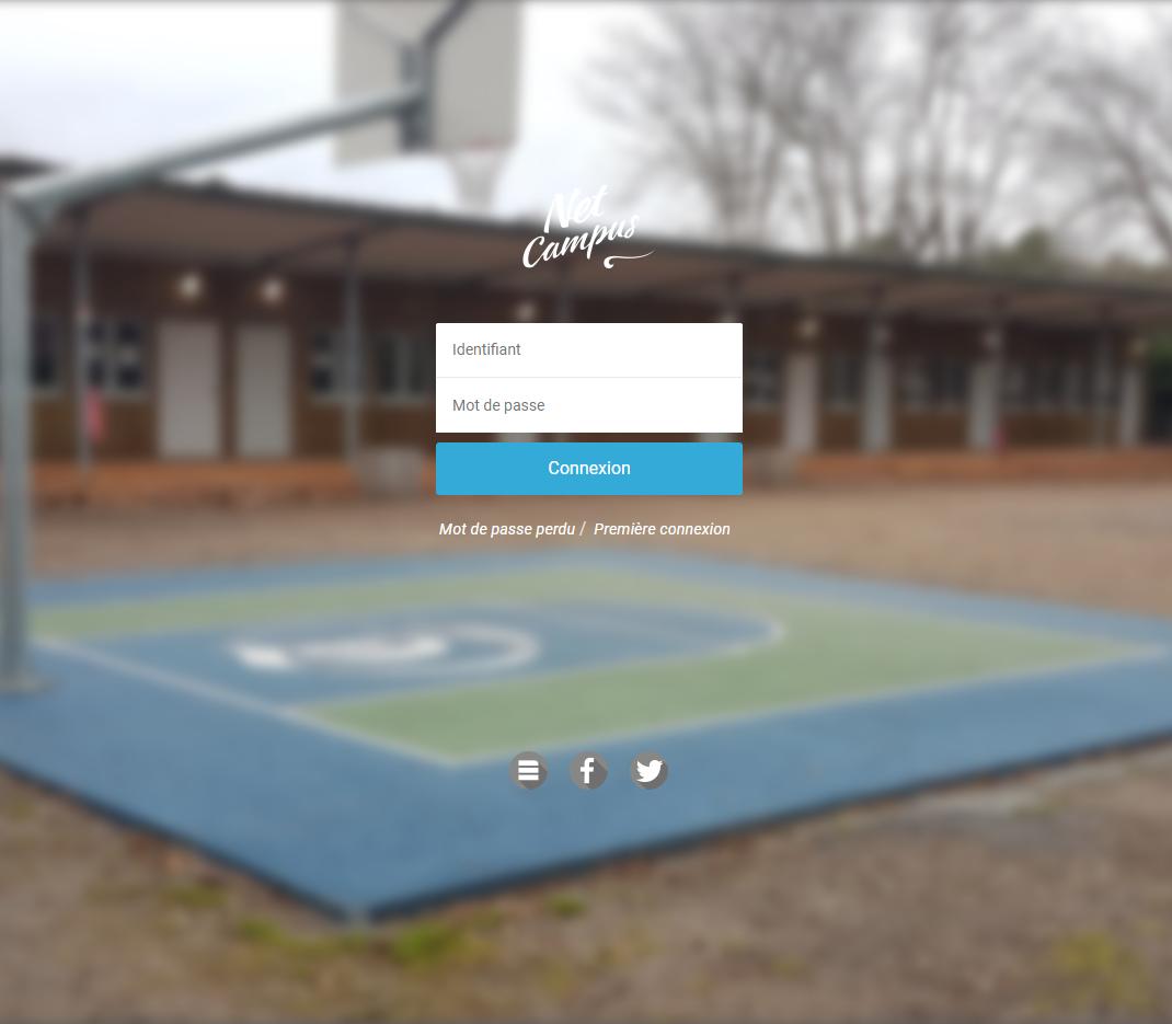Plateforme pedagogique en ligne Netcampus au chateau de troissy internat college et lycee cinema theatre