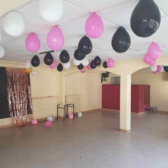 Salle fete soiree troissy internat 7 art college lycee gala bal de fin d'annee 2019 ballons