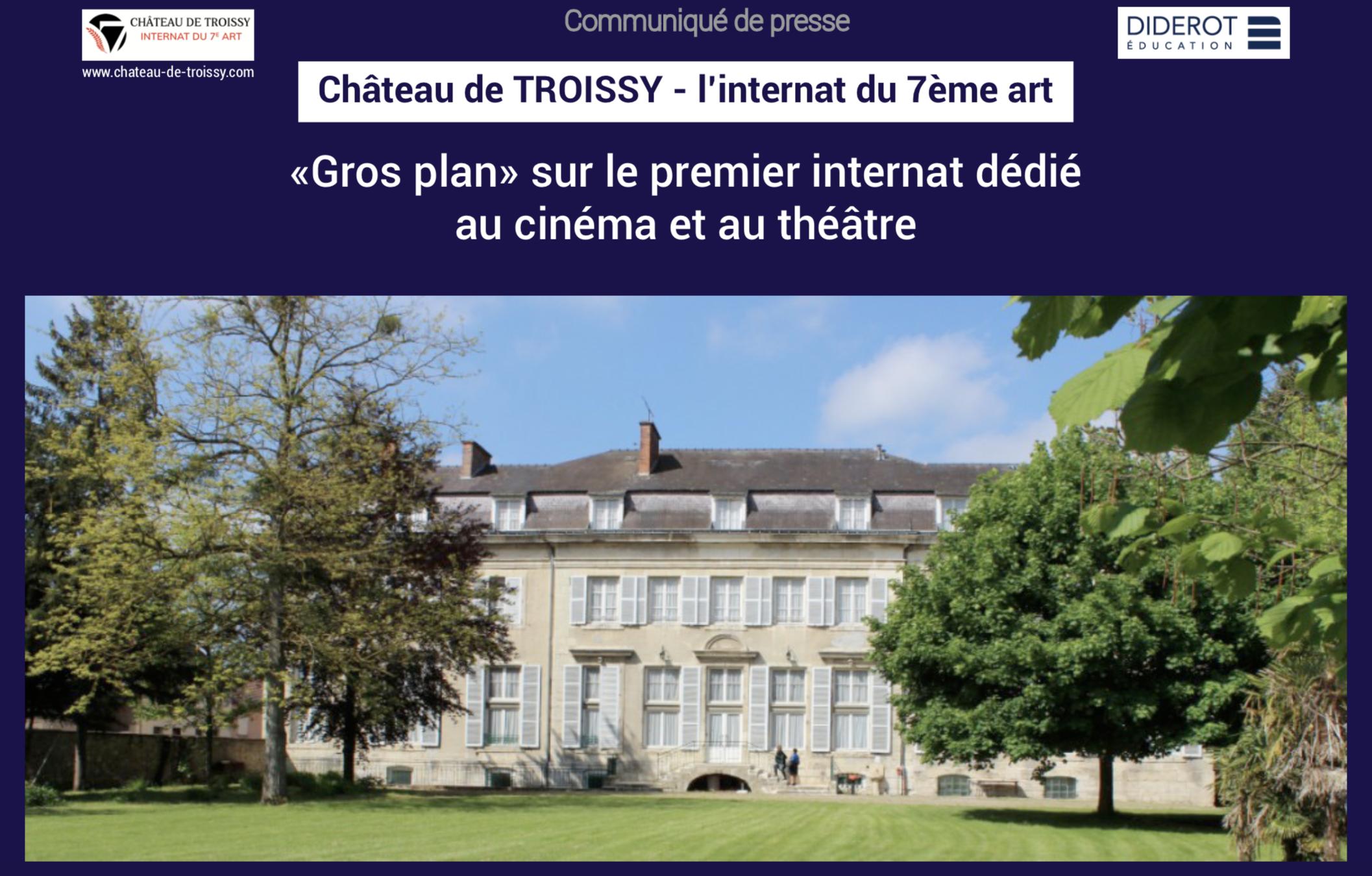 Visuel CP - Château de Troissy - juin 2019